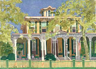 Mainstay Inn Print | Cape May Landmarks